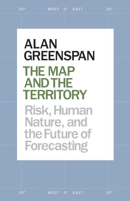 Boek cover The Map and the Territory 2.0 van Alan Greenspan (Onbekend)