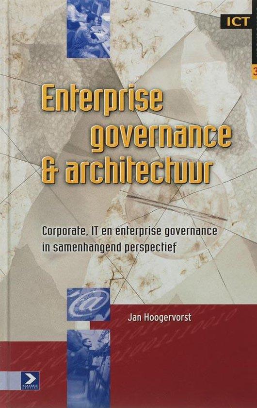 Enterprise governance & architectuur - J. Hoogervorst  
