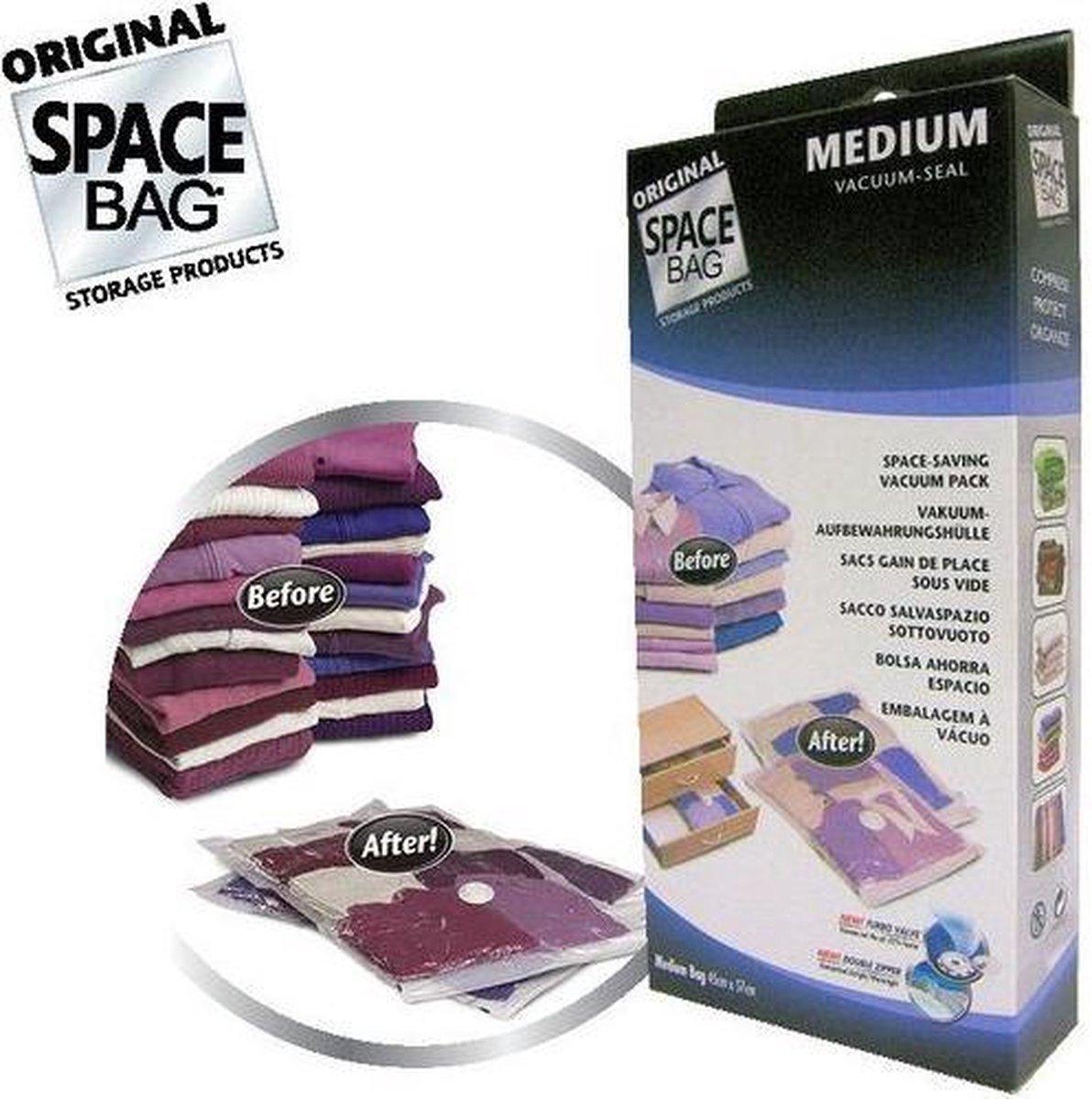 Space Bags Vacuümzakken Medium - 2 stuks - Space Bag