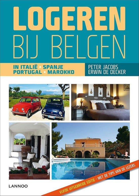 Cover van het boek 'Logeren bij belgen in het zuiden  / 2012'
