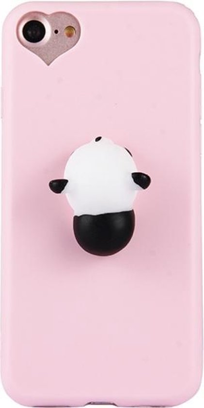 Let op type!! For iPhone 6 Plus & 6s Plus 3D Panda Pattern Squeeze Relief Squishy Dropproof Protective Back Cover Case