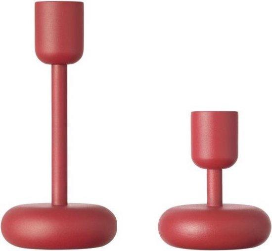 Nappula candleholder107&183 red 2set