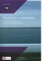Mediation reeks 10 - Mediation in strafzaken