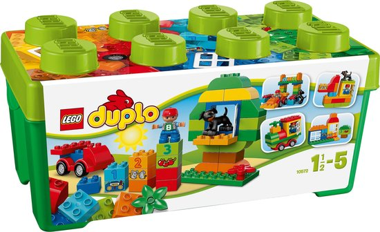 Afbeelding van LEGO DUPLO Alles-in-één Doos - 10572