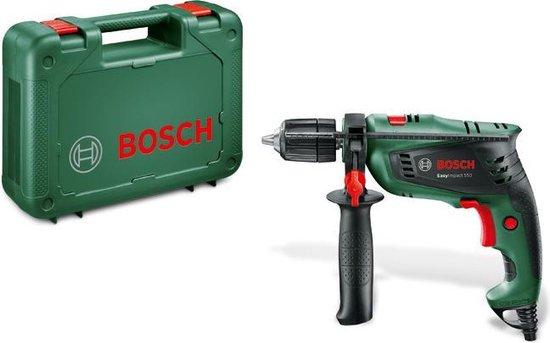 Bosch EasyImpact 550 Klopboormachine - 550 W - Met koffer