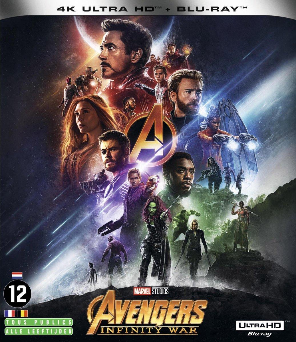 Avengers: Infinity War (4K Ultra HD Blu-ray) (Import zonder NL)-