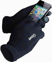 Touchscreen Handschoenen iGlove - Gebreid Dikke Kwaliteit - Winterhandschoenen - Heren / Dames - Zwart - Maat M / L