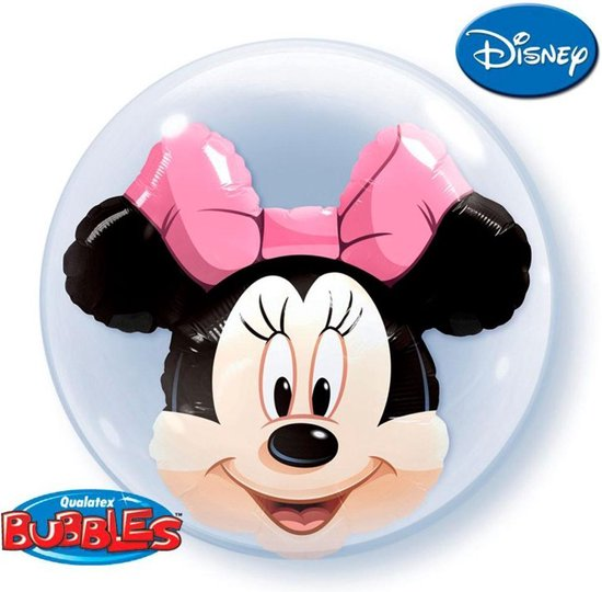 Minnie Mouse Bubbles Ballon 61cm