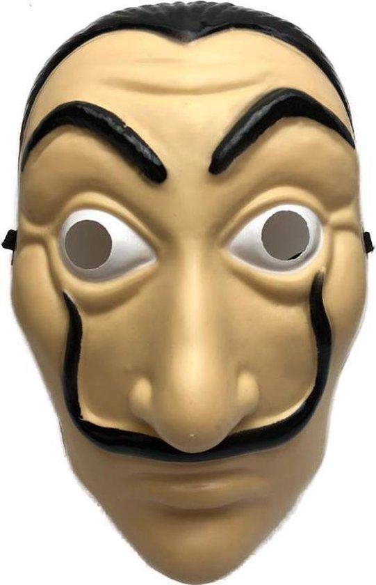 Dali masker - La Casa de Papel - 1 stuk