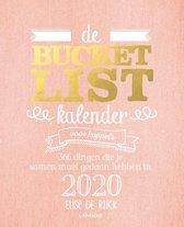 Boekomslag van 'Bucketlist - De bucketlistkalender voor koppels 2020'