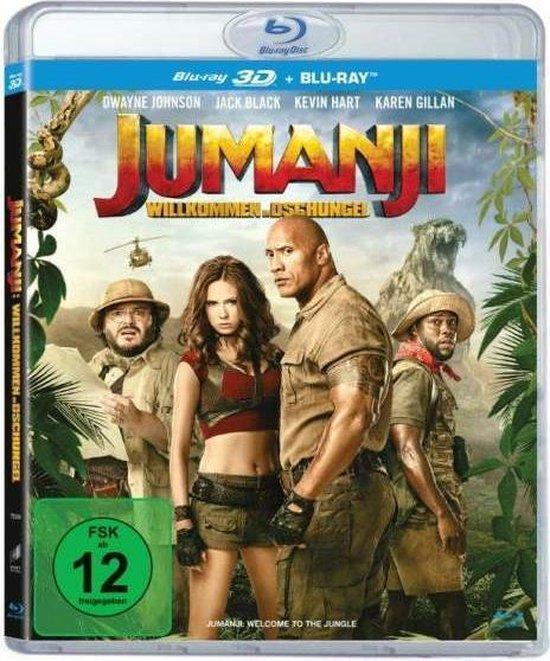 Jumanji: Welcome to the Jungle (2017) (3D & 2D Blu-ray)