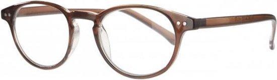 Icon Eyewear MCA003 Boston Leesbril +2.00 - Helder Karamel
