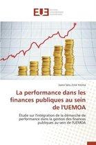 La Performance Dans Les Finances Publiques Au Sein de l'Uemoa