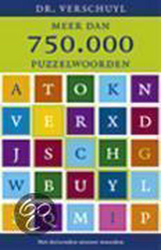 Meer Dan 750.000 Puzzelwoorden - Verschuyl |