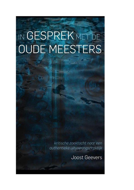 In gesprek met de oude meesters - Joost Geevers | Readingchampions.org.uk