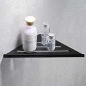 Corner Shelf / Hoek planchet Bermuda mat zwart 30,5 cm