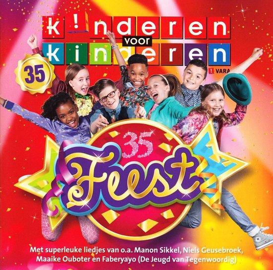 CD cover van Feest van Kinderen voor Kinderen