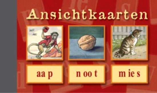 Afbeelding van Ansichtkaarten, Aap - Noot - Mies speelgoed