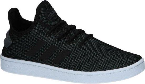 Zwarte Adidas Sneaker Laag Heren Court Adapt Comfort