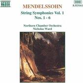 Mendelssohn: String Symph. 1-6
