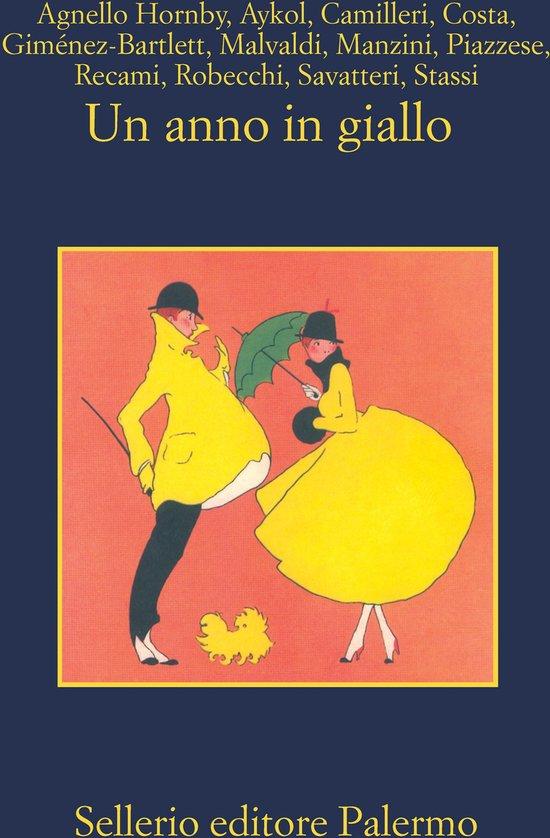 Boek cover Un anno in giallo van Simonetta Agnello Hornby (Onbekend)