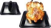 Tepro 8563 Barbecue Kiphouder met Aromareservoir