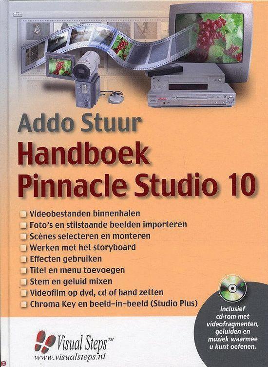 Handboek Pinnacle Studio 10 - Addo Stuur   Fthsonline.com