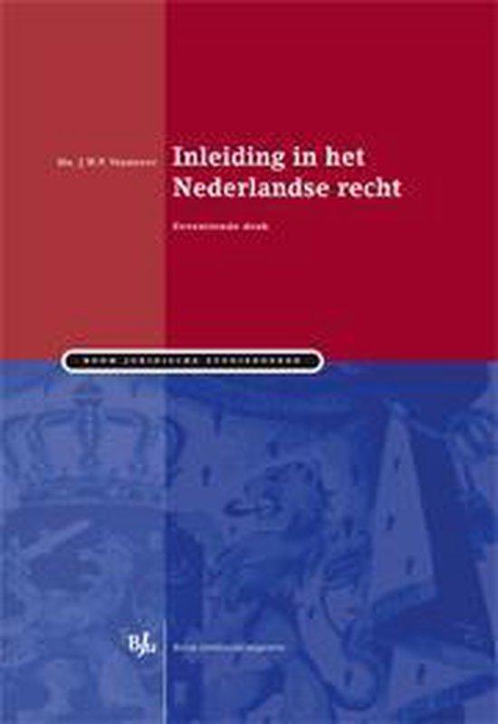 Inleiding in het Nederlandse recht - J.W.P. Verheugt  