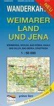 Weimarer Land und Jena 1 : 50 000 Wanderkarte