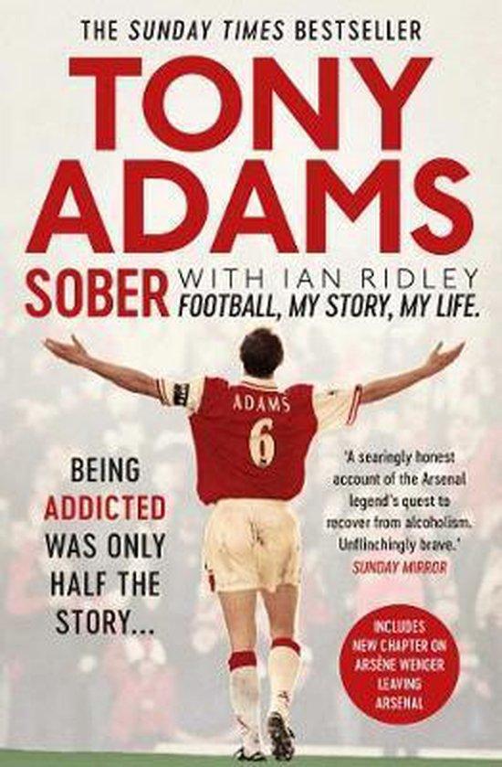 Boek cover Sober van Tony Adams (Paperback)