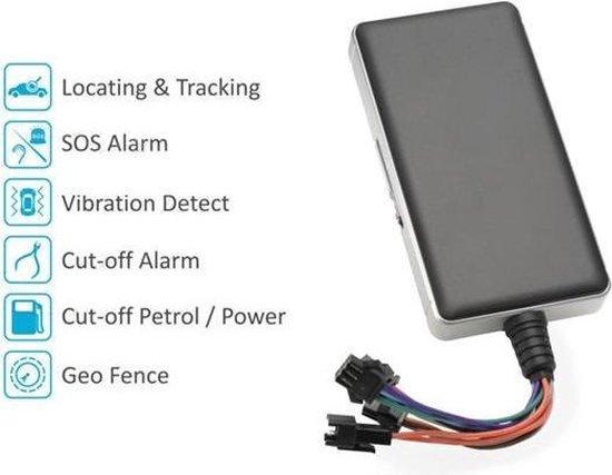 Premium GPS Tracker Volgsysteem Voor Auto / Scooter / Boot / Motor / Kampeerwagen / Caravan / Vrachtwagen / Bestelbus (Met gratis platform voor app en computer)