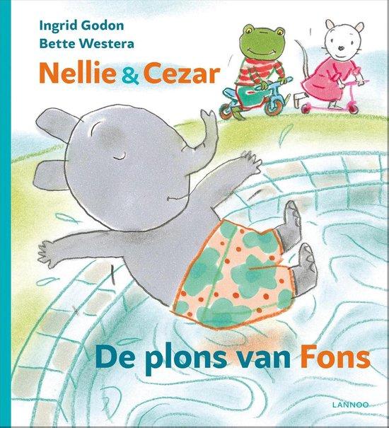 Nellie & Cezar - De plons van Fons - Ingrid Godon  