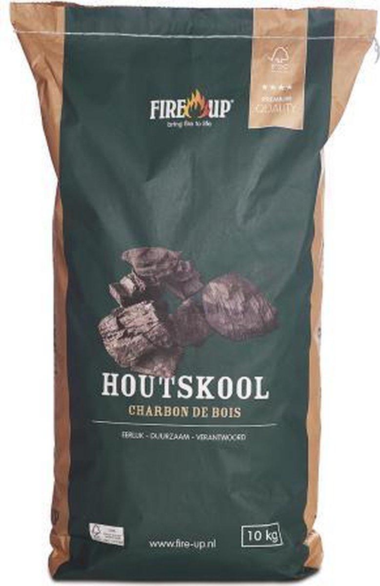 Fire-Up Premium Houtskool 10 kg
