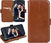 Bouletta Lederen Apple iPhone X / Xs Hoesje - BookCase - Rustic Cognac