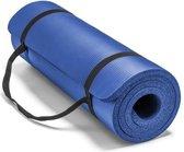 Sportbay fitnessmat - 180 cm x 60 cm x 1 cm - Blauw