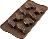 Silikomart Chocolade Mal voor Bladeren