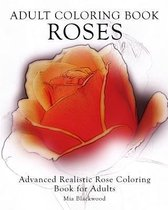 Adult Coloring Book Roses