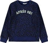Name it Meisjes Sweatshirt - Blue Depths - Maat 122-128