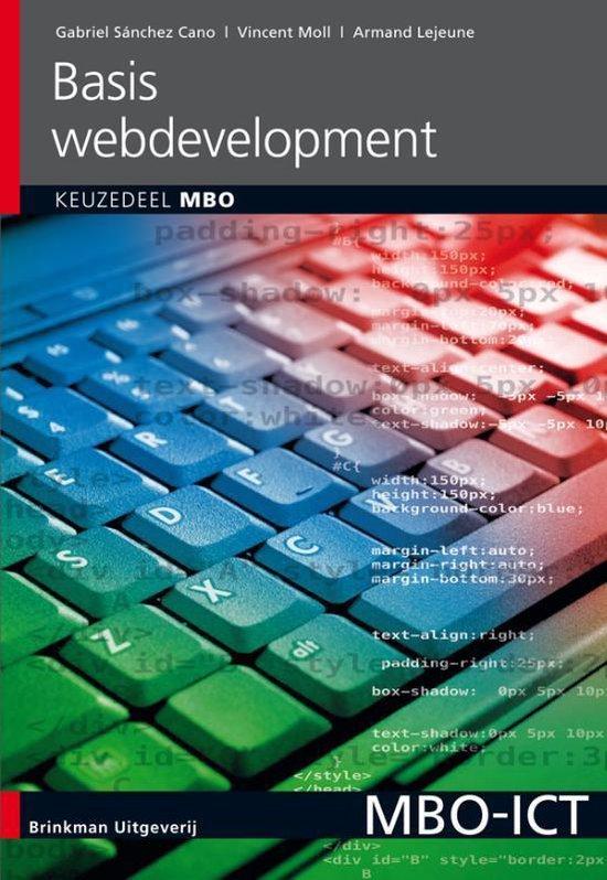 Basis Webdevelopment Keuzedeel MBO - Gabriel Sanchez Cano |