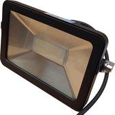 Buitenlamp zwart | LED 30W=350W halogeen schijnwerper | daglichtwit 6000K | waterdicht IP65