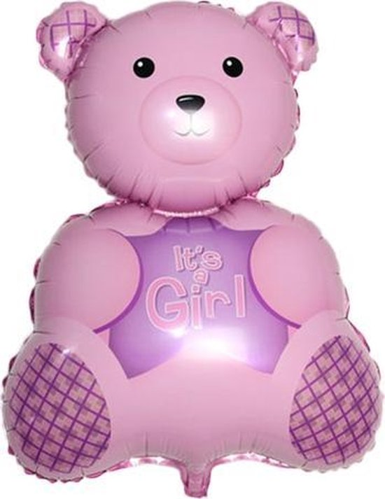 Grote XL roze beer ballon it