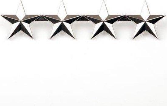 Generaal metalen sterren embleem