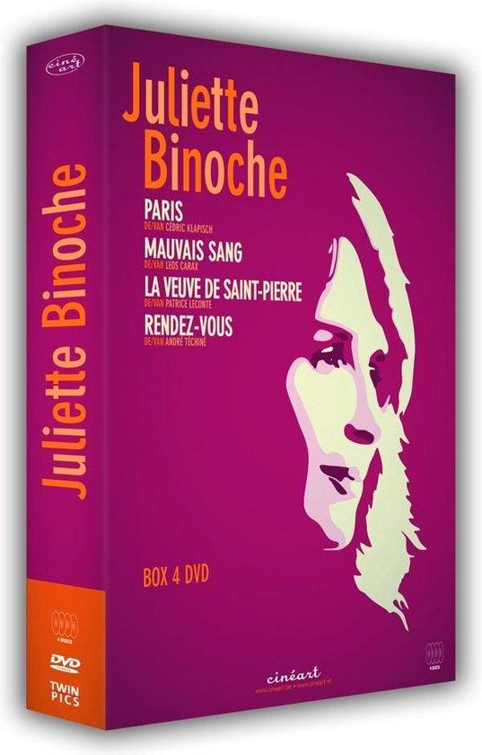 Cover van de film 'Juliette Binoche Box'