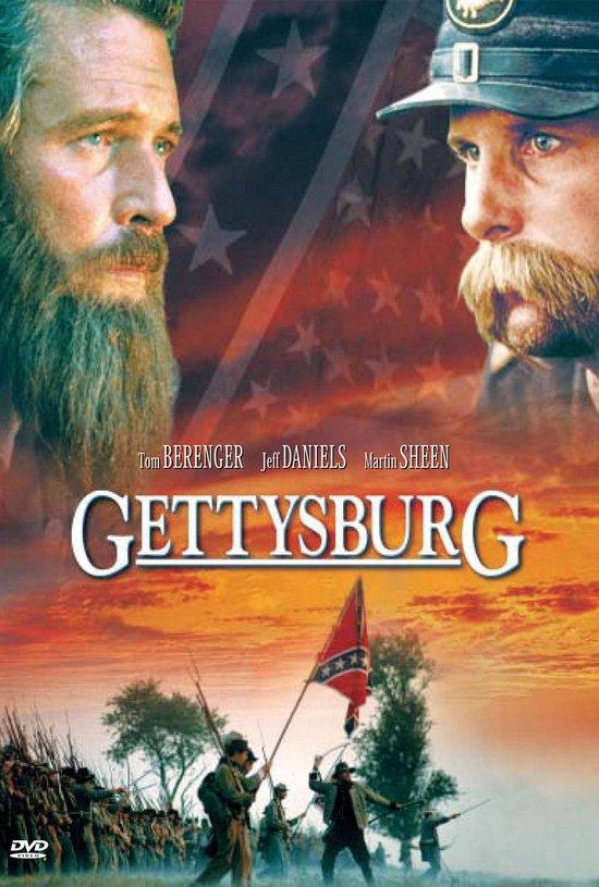 Cover van de film 'Gettysburg'