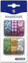 Washi Tape Glitter Kleuren | Decoratie Tape