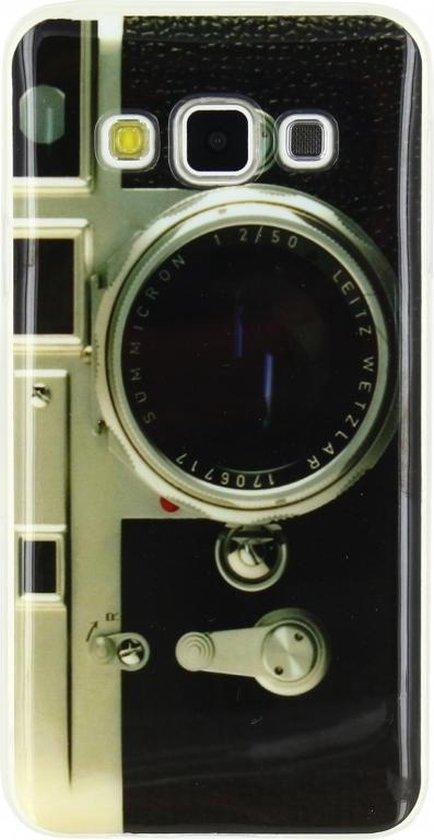 Xccess TPU Case Samsung Galaxy A3 Retro Camera