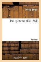Panepisteme. Volume 1