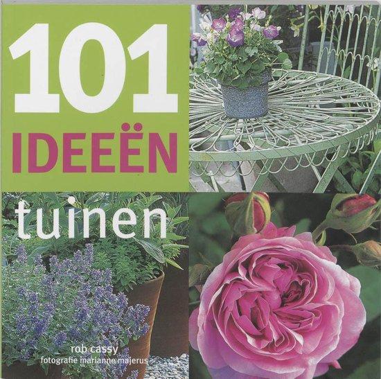 Cover van het boek '101 Ideeen tuinen' van R. Cassy
