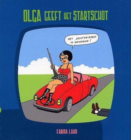 Boek cover Olga geeft het startschot van Farida Laan (Paperback)