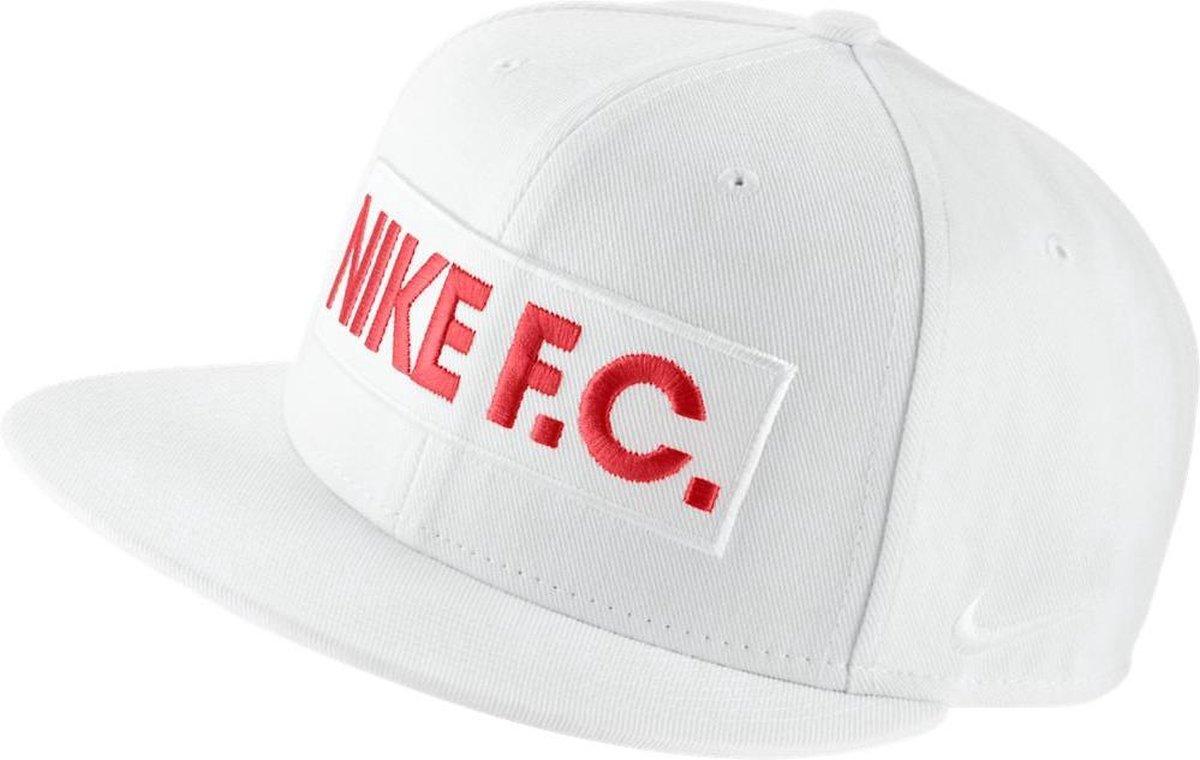 Nike F.C. Block True Cap Cap - Unisex - wit/rood